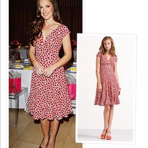 Kate Spade Pippa Poppy Print Midi Dress - NWOT
